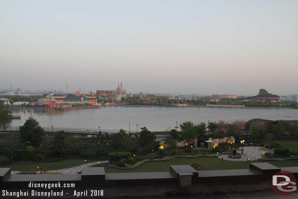 Shanghai Disneyland Hotel Room - Park View