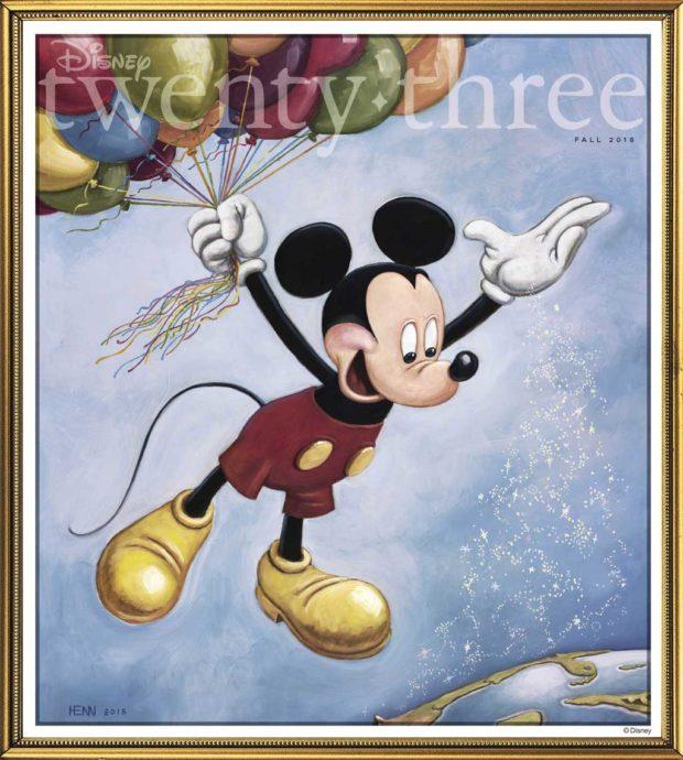 Disney Twenty-Three Fall 2018 Issue Cover - 90 Years of Mickey
