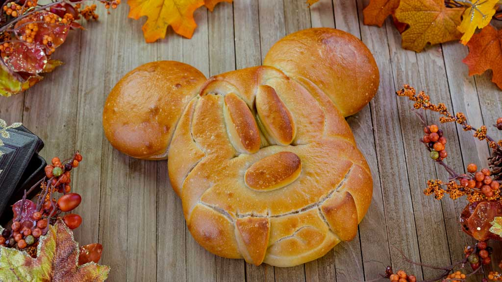 Mickey Bread with Fangs at Pacific Wharf Café