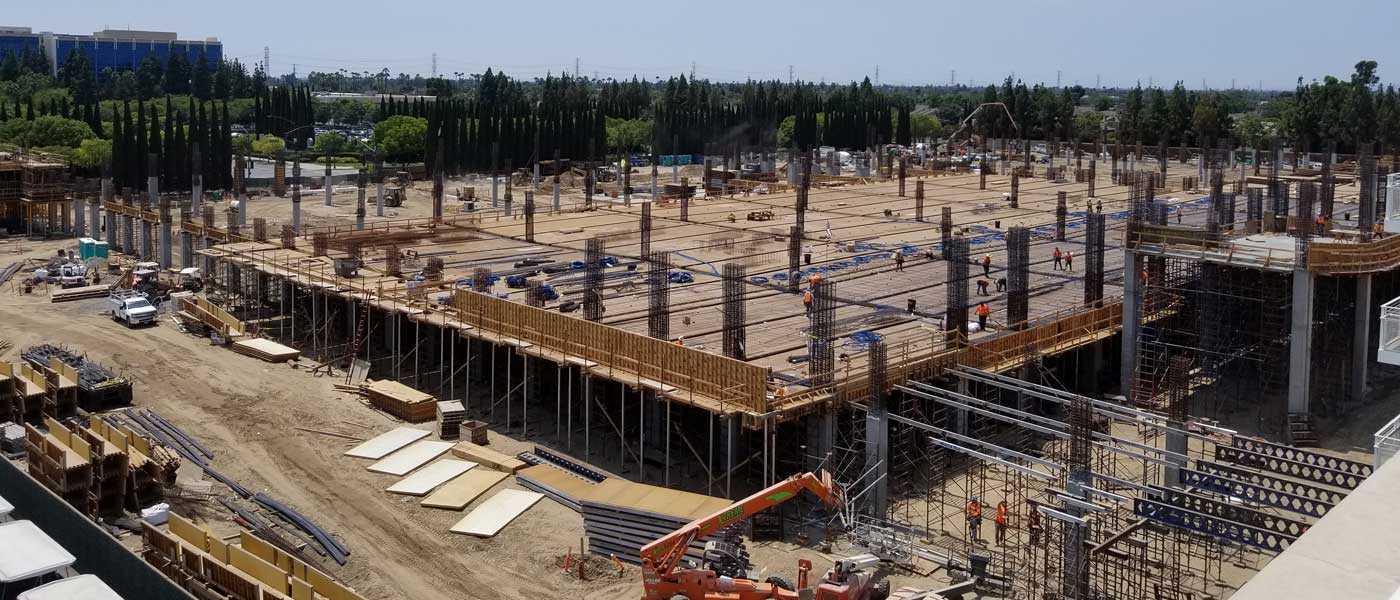 Disneyland New Parking Structure Construction Pictures (8/10)