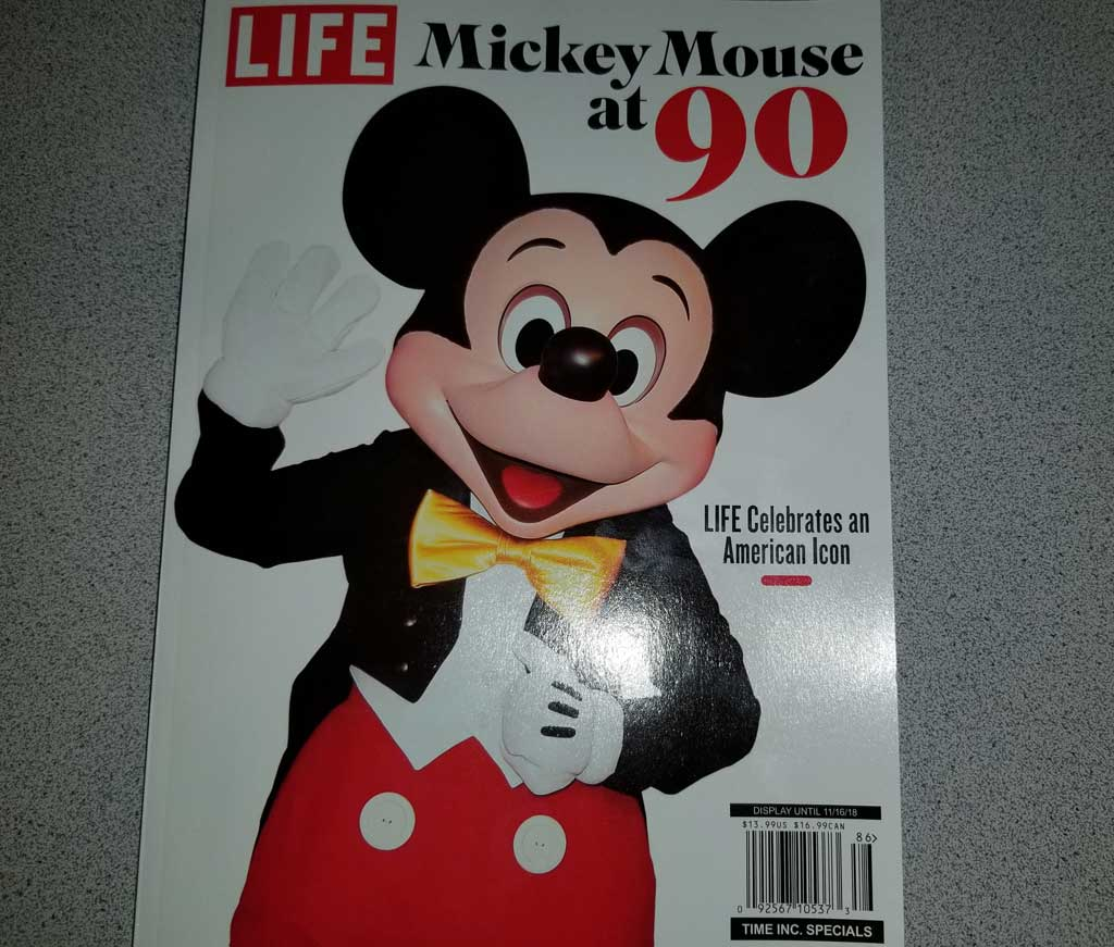 Review: LIFE Mickey Mouse at 90 Magazine/Book – The Geek's ...