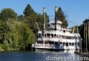 Disneyland Mark Twain Riverboat on the Rivers of American