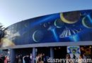 Disneyland Tomorrowland Mural on the north side has returned