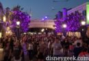 Crowds entering Disney California Adventure this evening