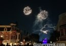Remember Dreams Come True –  Mickey fireworks had an issue again