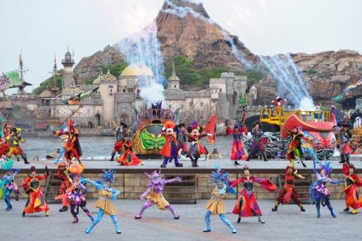 """Disney Halloween"" at Tokyo DisneySea"