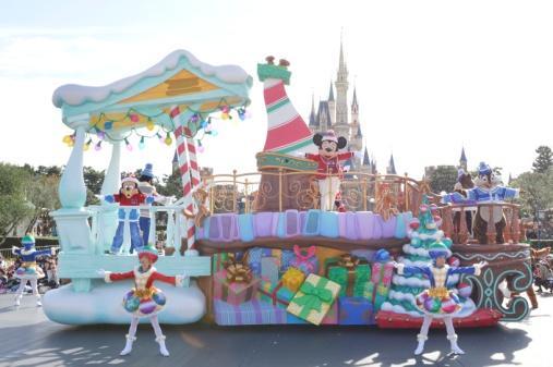 """Disney Christmas"" at Tokyo Disneyland"
