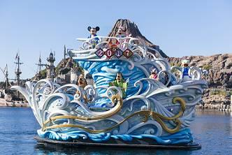 New Year's Program at Tokyo DisneySea