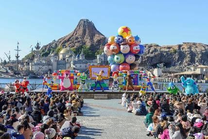 """Pixar Playtime"" at Tokyo DisneySea"