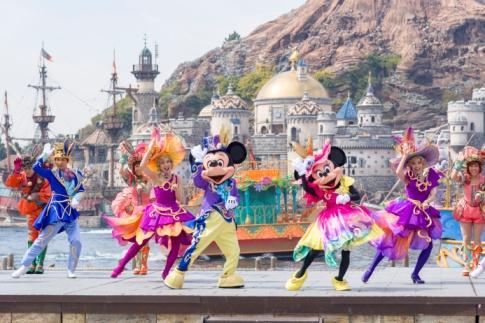 """""""Disney's Easter"""" at Tokyo DisneySea"""