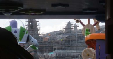 Star Wars: Galaxy's Edge Construction from Toy Story Land at Disney's Hollywood Studios