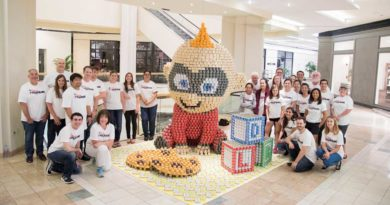 Jack-Jack Escapes Again During CANstruction Orange County