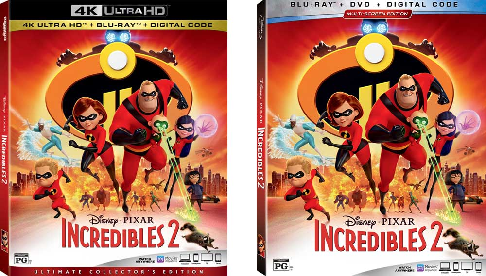 Incredibles 2 Home Video
