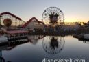 Pixar Pier at Disney California Adventure this evening