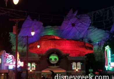 Cars Land Decorated for Haul-O-Ween