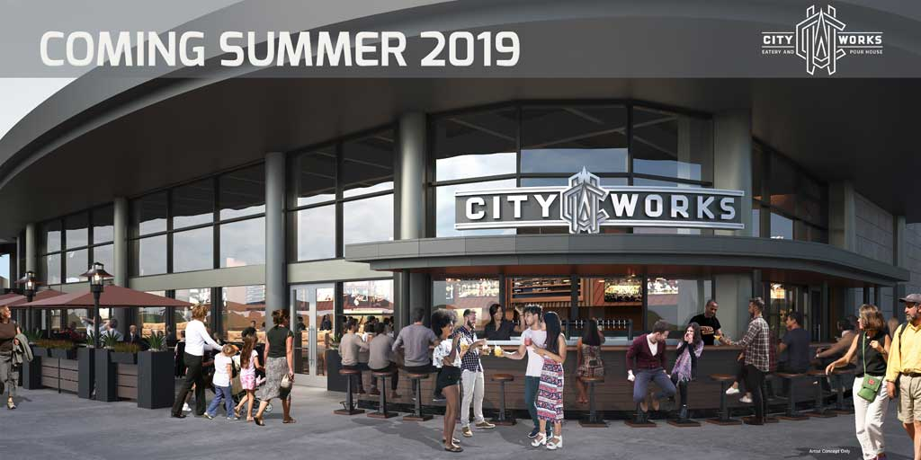 City Works is coming to Disney Springs in the summer of 2019. The lively eatery and pour house-style restaurant will offer a massive draft selection of local, regional, and global craft brews with a constantly rotating draft list, complemented by classic American cuisine with chef-driven twists.