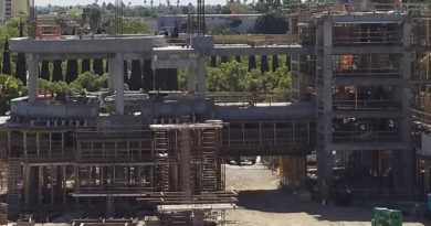 Disneyland New Parking Structure Construction Pictures (10/19)