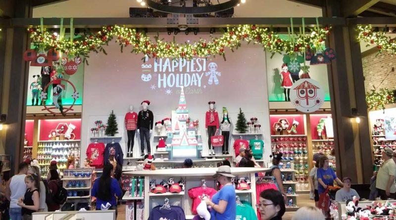 World of Disney Christmas Section
