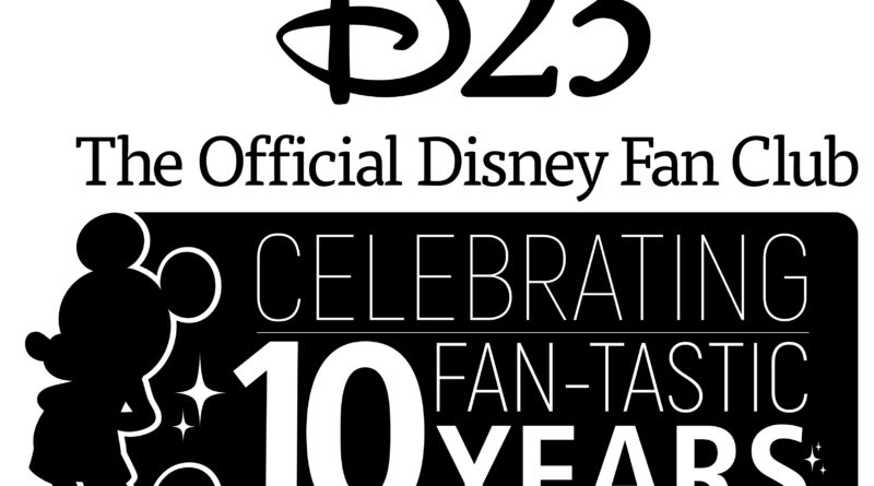 D23 10 Year Logo