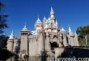 The annual snowfall on Sleeping Beauty Castle has occurred at Disneyland