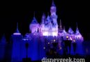 Disneyland Sleeping Beauty Castle this evening