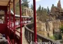 Riding the rails onboard the Disneyland Railroad