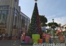 A walk through Downtown Disney taking a look at Christmas decorations and ongoing projects