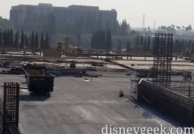 Disneyland New Parking Structure Construction Pictures (11/20)