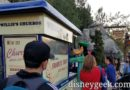 Goofy stopped by a churro cart on Buena Vista Street – Click to see what he picked up