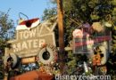 Mater's Jingle Jamboree sign in Cars Land
