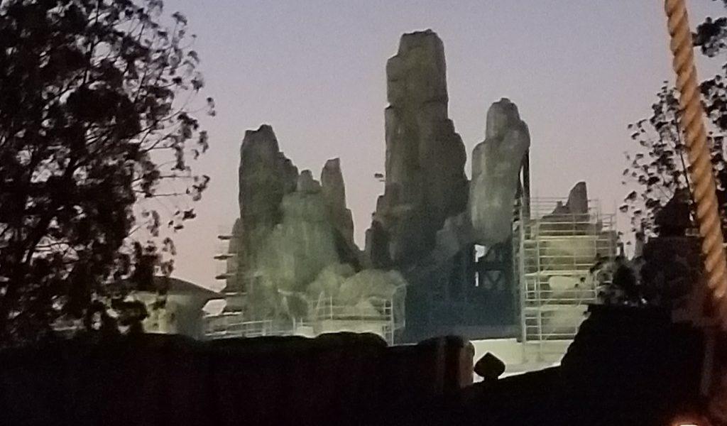 Disneyland Star Wars: Galaxy's Edge Construction Pictures (11/20/18)