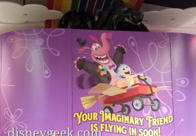 Looks like Bing Bong will appear in his store soon on Pixar Pier