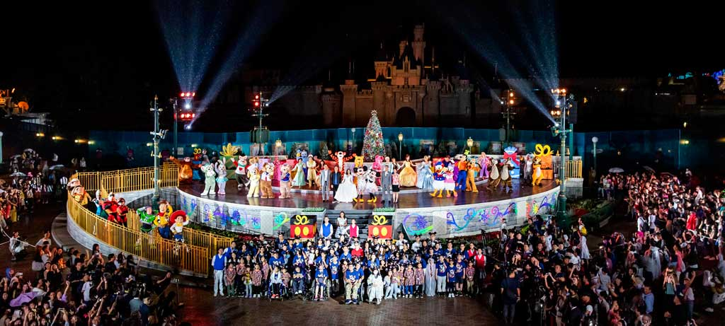 Christmas In Disneyland Hong Kong.Hong Kong Disneyland World S Biggest Mouse Party