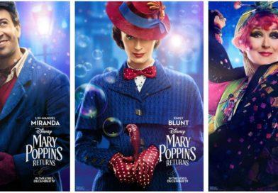 Mary Poppins Returns – Sneak Peek Video & Character Posters