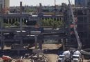 Disneyland New Parking Structure Construction Pictures (11/02)