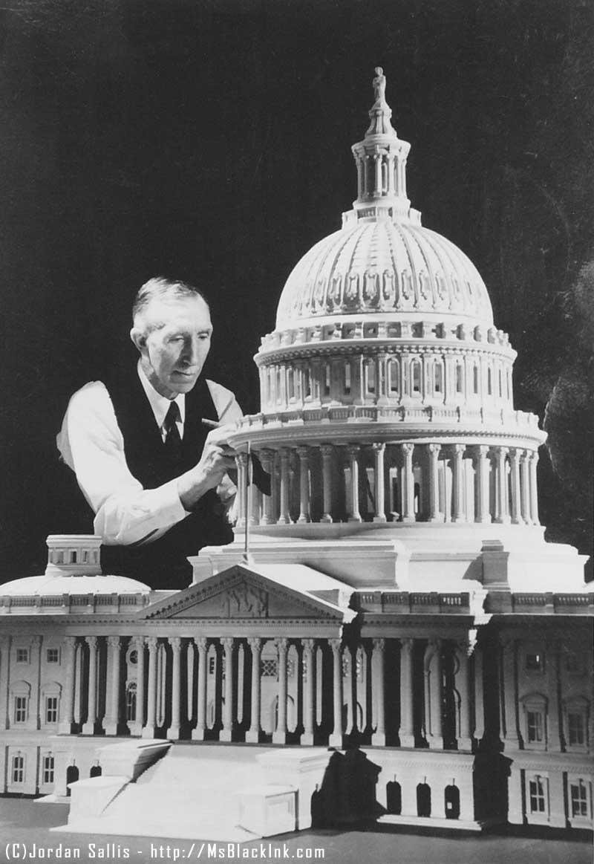 US Capitol Model