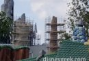Disneyland Star Wars: Galaxy's Edge Construction Pictures (12/01/18)