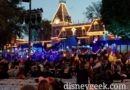 30 minutes until Disneyland Candlelight 2018