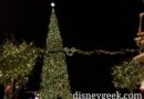 Disneyland Town Square Christmas Tree