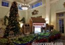 Gingerbread Display in Disney's Boardwalk Resort Lobby (several pictures)