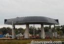 Disney Skyliner Turn Near Boardwalk Resort Pictures (12/04/18)