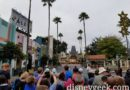 Waiting for Disney's Hollywood Studios to open for the day