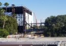 Guardians of the Galaxy Attraction Construction at Epcot from Monorail