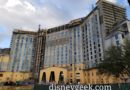 WDW Day 5: Disney's Gran Destino Tower Construction Pictures