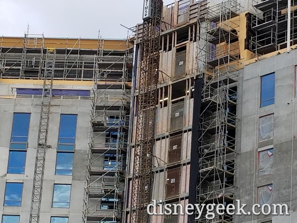 WDW Day 5: Disney's Gran Destino Tower Construction