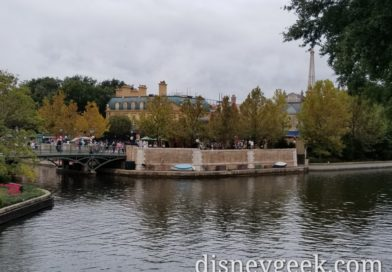 The rain let up so venturing to Epcot for lunch