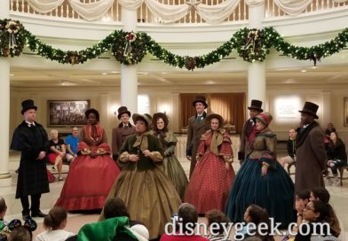 Voices of Liberty as Dickens Carolers at Epcot