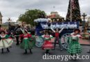 Main Street Trolley Show is using the blue wagon today