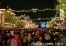 Found a spot for Believe in Holiday Magic – 15 minutes until showtime