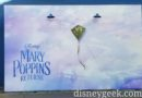 Mary Poppins Returns photo wall on Stage 12 in Hollywood Land